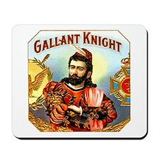Gallant Knight Cigar Label Mousepad