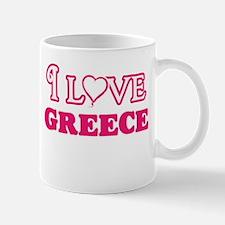 I love Greece Mugs