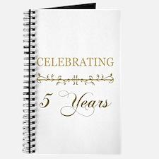Celebrating 5 Years Journal