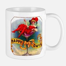 Happy Days Cigar Label Mug