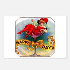 Happy Days Cigar Label Postcards (Package of 8)