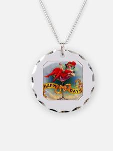 Happy Days Cigar Label Necklace