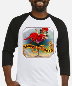 Happy Days Cigar Label Baseball Jersey