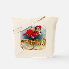Happy Days Cigar Label Tote Bag