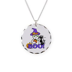 Halloween Ghost Necklace