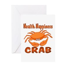 Crab Happiness Greeting Card