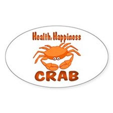 Crab Happiness Decal