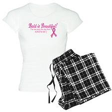 Bald is Beautiful Cancer Sucks Pajamas