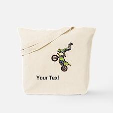 Motorbike Jump Tote Bag