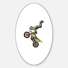 Freestyle Motocross Sticker (Oval)