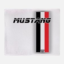 Mustang BWR Throw Blanket
