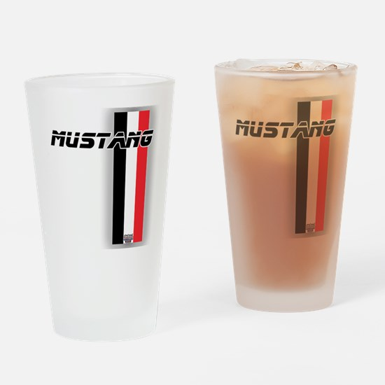 Mustang BWR Drinking Glass