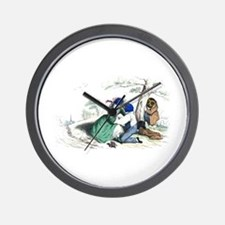 The Peeping Tom Wall Clock