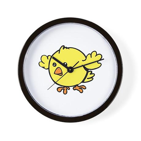 Cute Chick Wall Clock