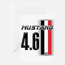 Mustang 4.6 Greeting Card