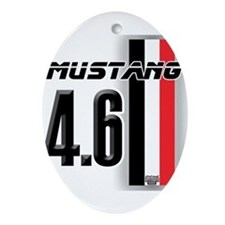 Mustang 4.6 Ornament (Oval)