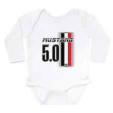 Mustang 5.0 BWR Long Sleeve Infant Bodysuit