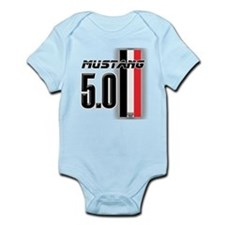 Mustang 5.0 BWR Infant Bodysuit