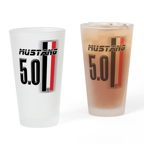 Mustang 5.0 BWR Drinking Glass