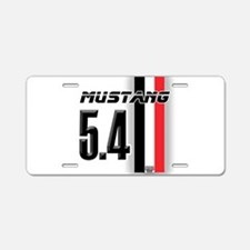 Mustang 5.4 BWR Aluminum License Plate