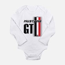 Mustang GT BWR Long Sleeve Infant Bodysuit