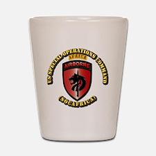 SOF - USSOC - SOCAFRICA - SSI Shot Glass
