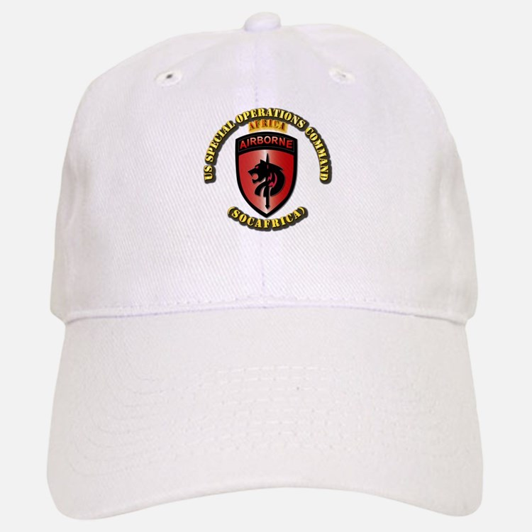 SOF - USSOC - SOCAFRICA - SSI Baseball Baseball Cap