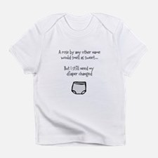 Diaper Change Infant T-Shirt