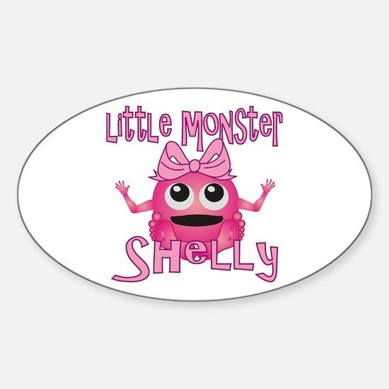 Little Monster Shelly Sticker (Oval)