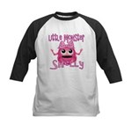 Little Monster Shelly Kids Baseball Jersey
