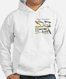Tools with Gray Text. Hoodie