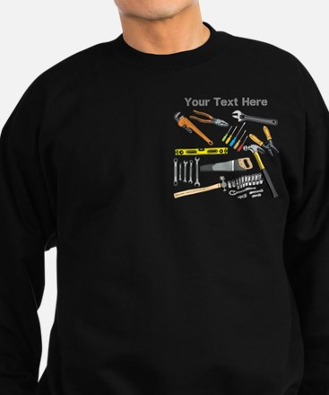 Tools with Gray Text. Sweatshirt (dark)