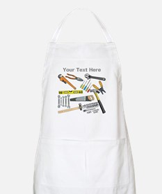 Tools with Gray Text. Apron