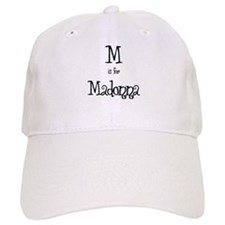 M Is For Madonna Baseball Cap
