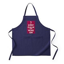 Wine On Apron (dark)