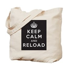 Cute Keep calm and reload Tote Bag