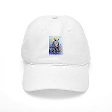rhino, wildlife, art, Baseball Cap