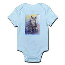 rhino, wildlife, art, Onesie