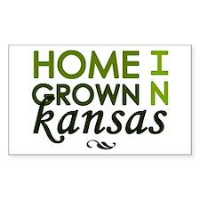 'Home Grown In Kansas' Decal
