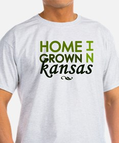 'Home Grown In Kansas' T-Shirt