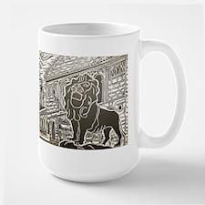 chicago lion Mug