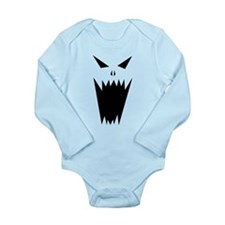Unique Horrific Long Sleeve Infant Bodysuit