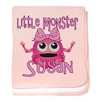 Little Monster Susan baby blanket