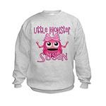 Little Monster Susan Kids Sweatshirt