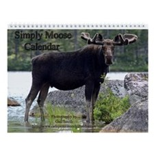 Simply moose Wall Calendar