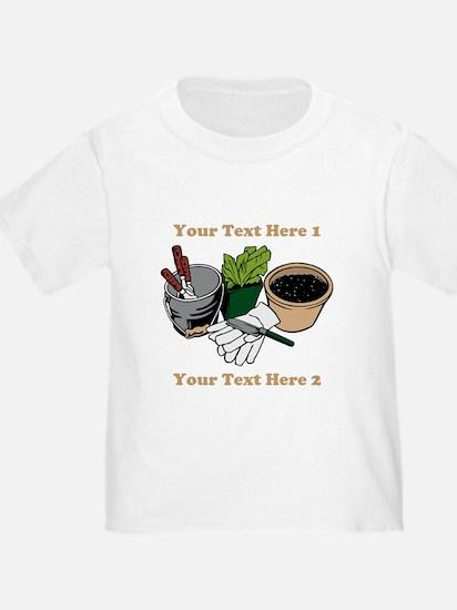 Gardening. Custom Text T