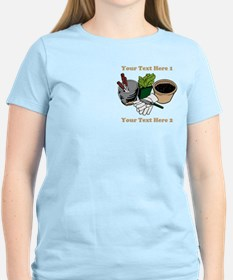 Gardening. Custom Text T-Shirt