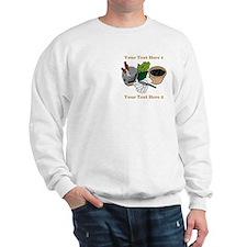 Gardening. Custom Text Sweatshirt