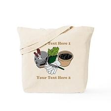 Gardening. Custom Text Tote Bag