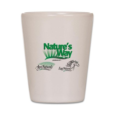 Nature's Way Items Shot Glass